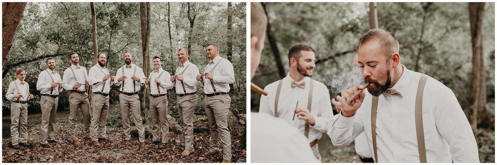 16 - Wedding details : groom getting ready: groomsmen : Deep South Farm Wedding Venue : Atlanta Wedding Photographer .jpg