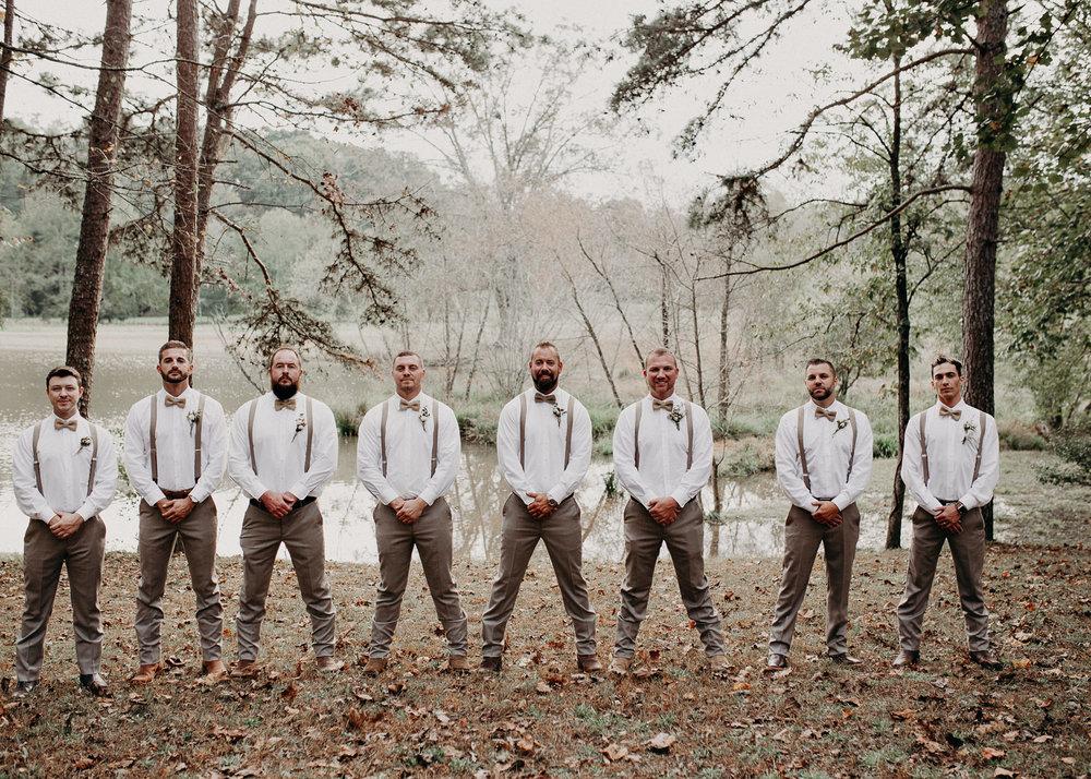 17.1 - Wedding details : groom getting ready: groomsmen : Deep South Farm Wedding Venue : Atlanta Wedding Photographer .jpg