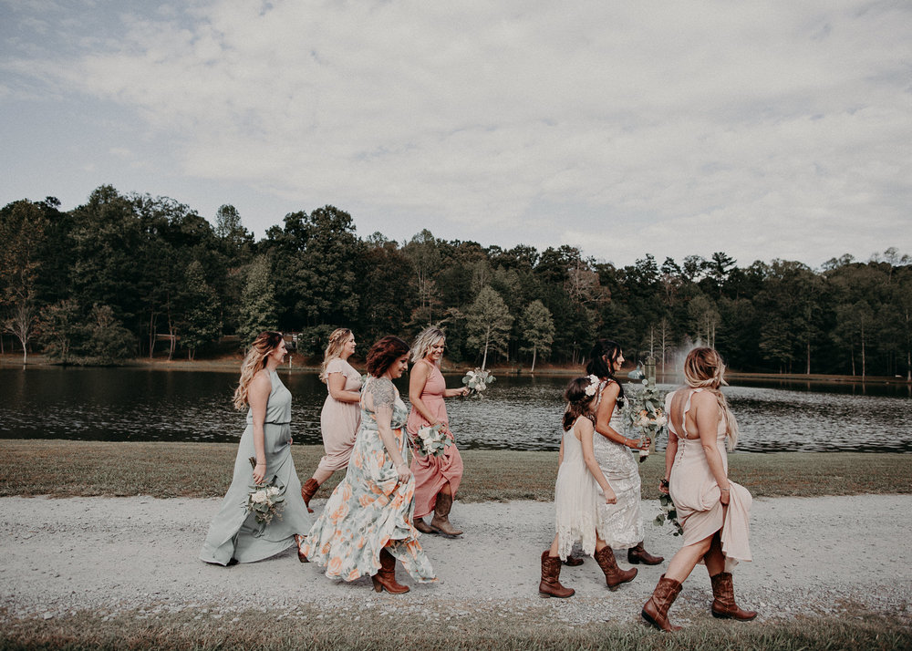 54 - Wedding details : bride running : funny picture : getting ready: bridesmaids : Deep South Farm Wedding Venue : Atlanta Wedding Photographer .jpg
