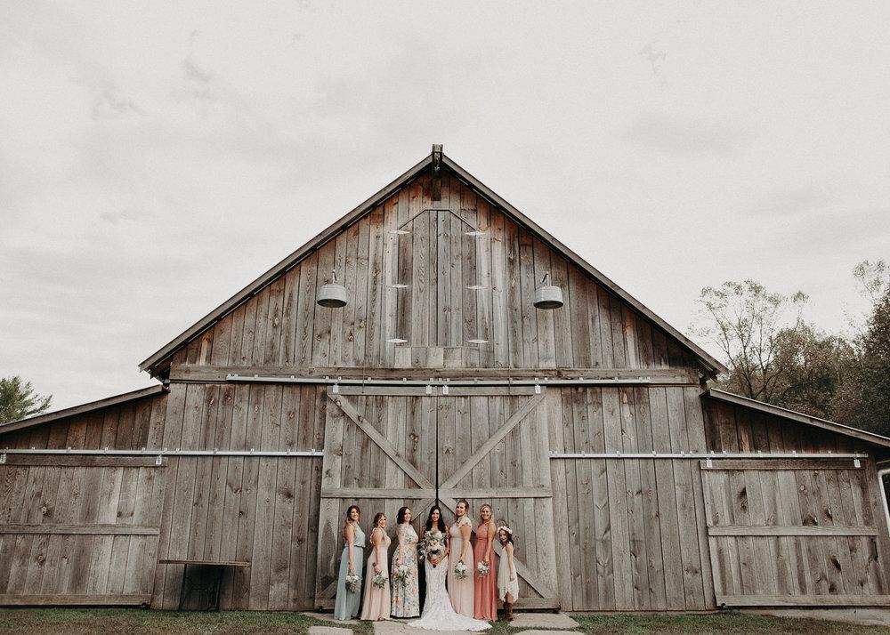 55 - Wedding details : Bride and bridesmaids portraits  : Deep South Farm Wedding Venue : Atlanta Wedding Photographer .jpg