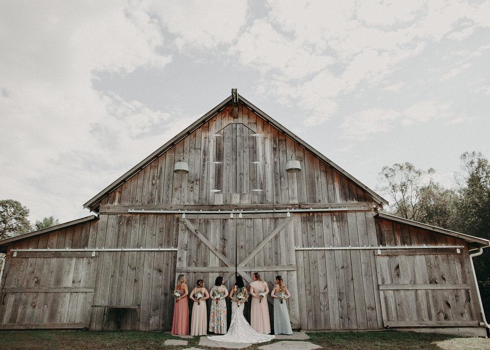 58 - Wedding details : Bride and bridesmaids portraits  : Deep South Farm Wedding Venue : Atlanta Wedding Photographer .jpg