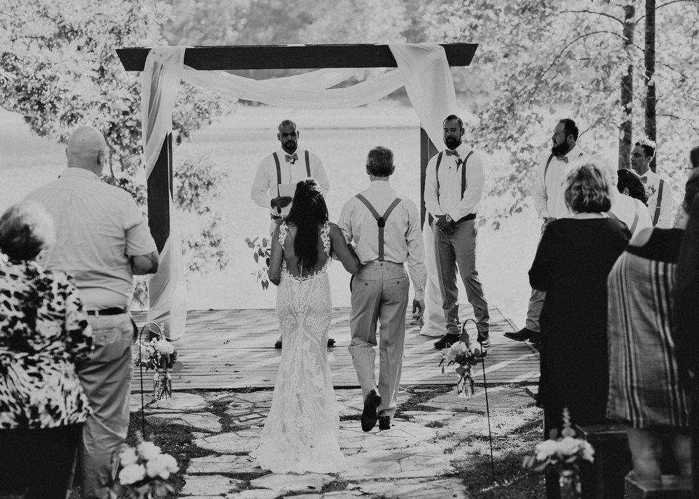 83 - Wedding Ceremony : Deep South Farm Wedding Venue : Atlanta Wedding Photographer .jpg