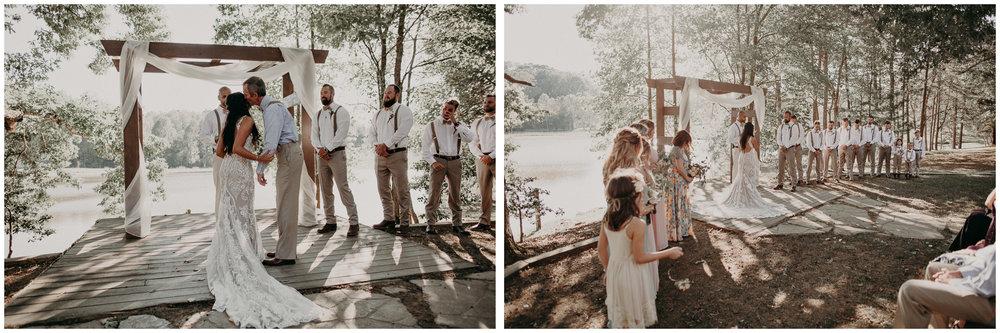 84 - Wedding Ceremony : Deep South Farm Wedding Venue : Atlanta Wedding Photographer .jpg
