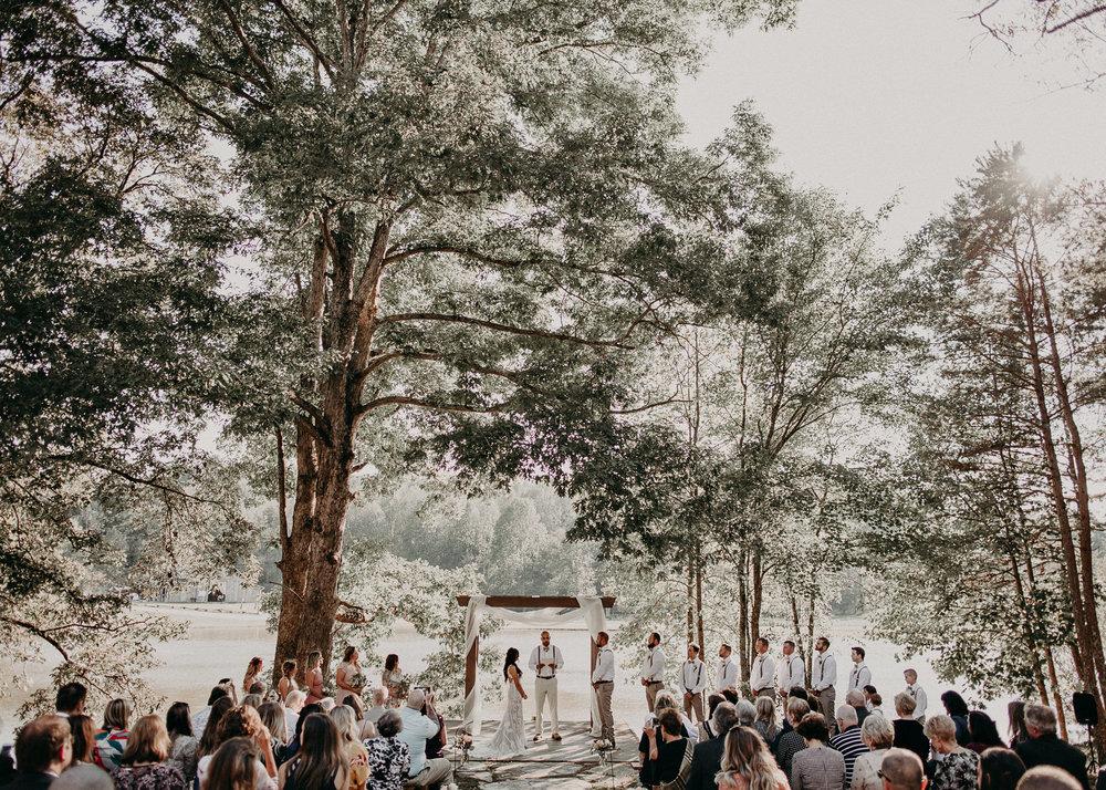 85 - Wedding Ceremony : Deep South Farm Wedding Venue : Atlanta Wedding Photographer .jpg