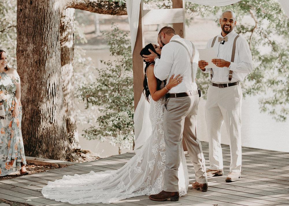 87 - Wedding Ceremony : Deep South Farm Wedding Venue : Atlanta Wedding Photographer .jpg