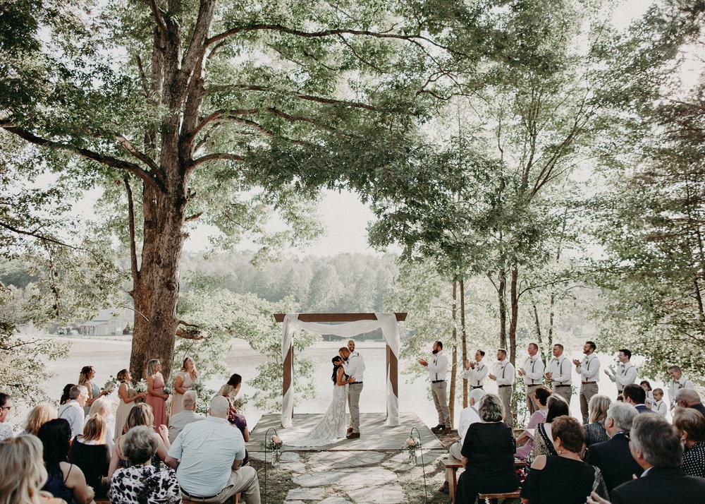 88 - Wedding Ceremony : Deep South Farm Wedding Venue : Atlanta Wedding Photographer .jpg