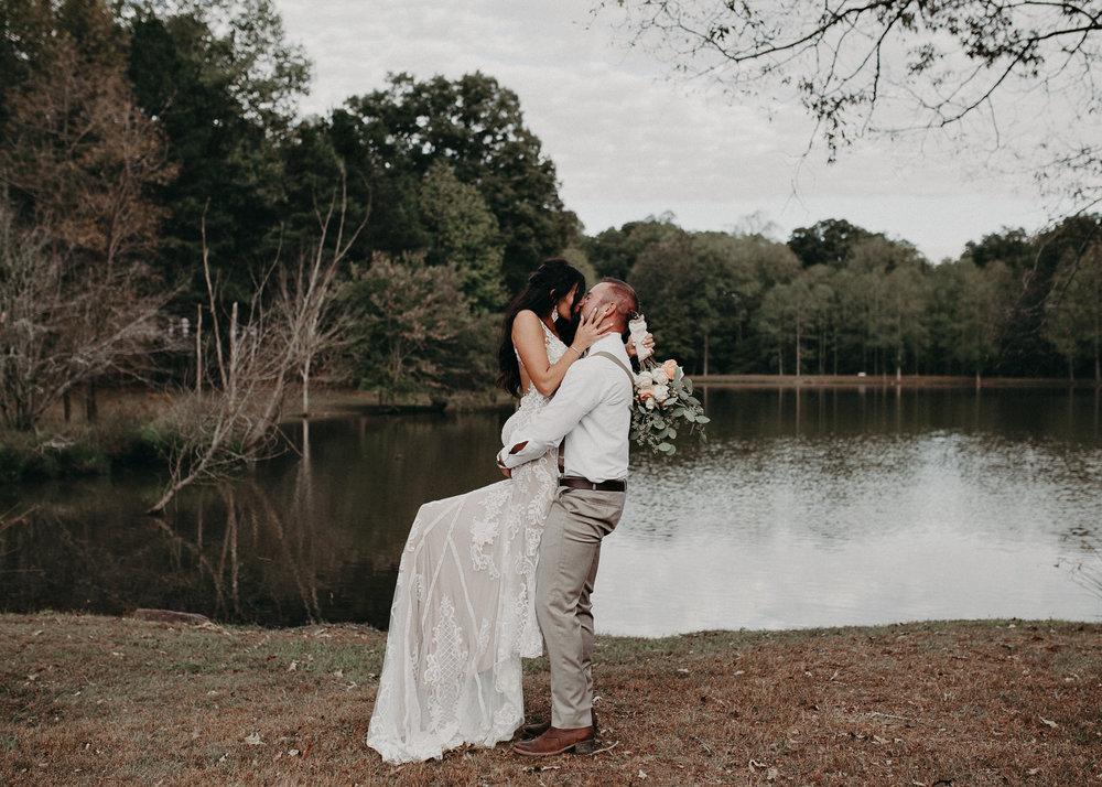105 - Wedding Ceremony : Deep South Farm Wedding Venue : Atlanta Wedding Photographer .jpg