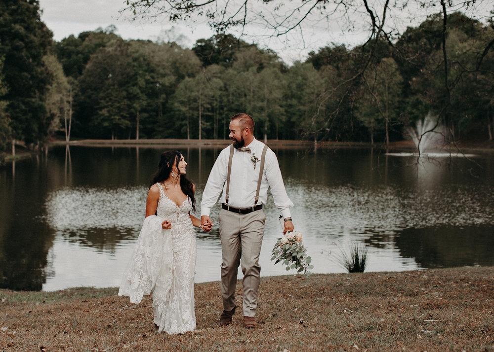 110 - Wedding Ceremony : Deep South Farm Wedding Venue : Atlanta Wedding Photographer .jpg
