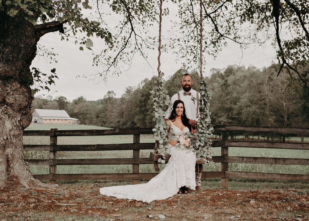 115 - Wedding Ceremony : Deep South Farm Wedding Venue : Atlanta Wedding Photographer .jpg