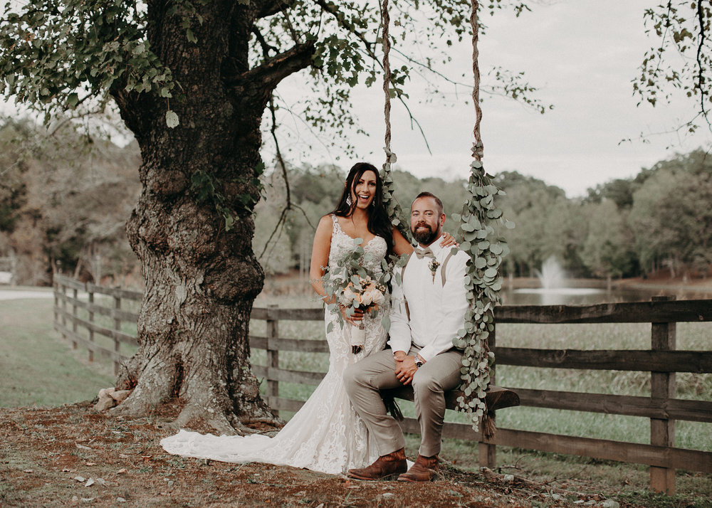 118 - Wedding Ceremony : Deep South Farm Wedding Venue : Atlanta Wedding Photographer .jpg