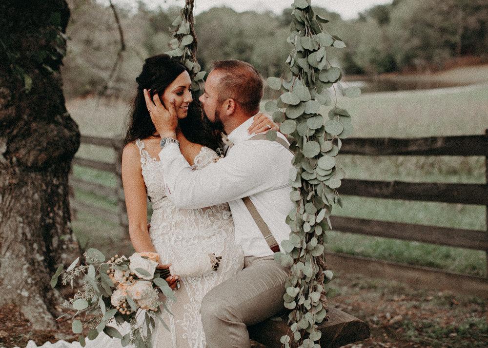 119 - Wedding Ceremony : Deep South Farm Wedding Venue : Atlanta Wedding Photographer .jpg