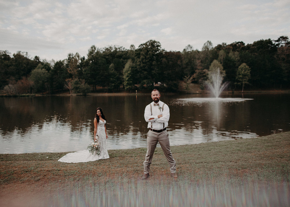 123 - Wedding Ceremony : Deep South Farm Wedding Venue : Atlanta Wedding Photographer .jpg