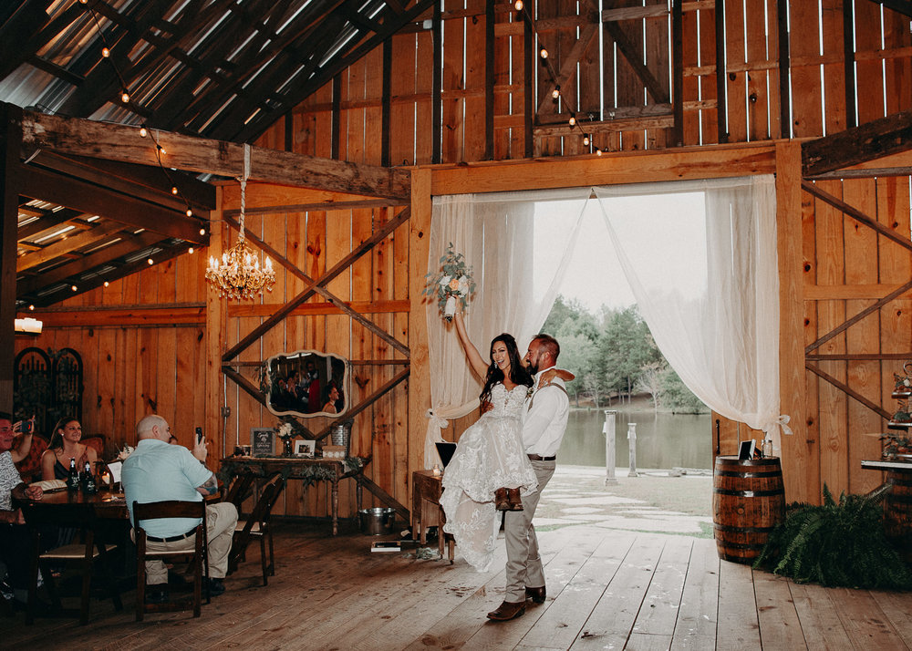 126 - Wedding couples portraits : reception : Deep South Farm Wedding Venue : Atlanta Wedding Photographer .jpg