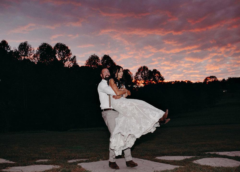 133 - Wedding couples portraits : reception : Deep South Farm Wedding Venue : Atlanta Wedding Photographer .jpg