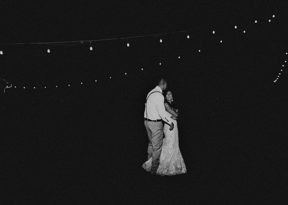 143 - Wedding couples portraits first dance : reception : Deep South Farm Wedding Venue : Atlanta Wedding Photographer .jpg