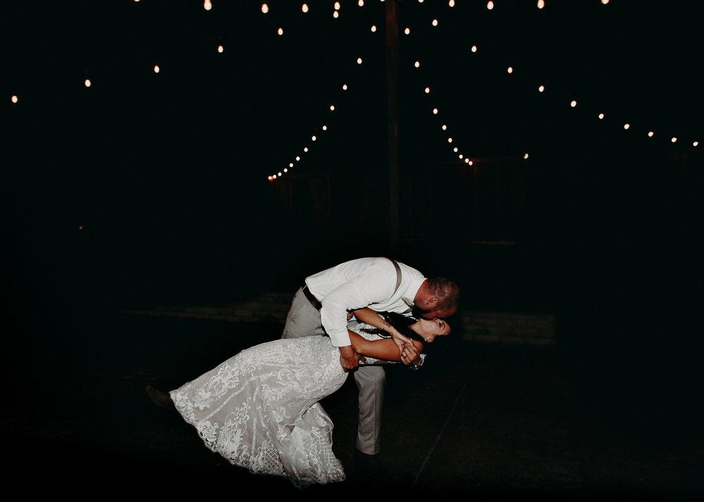 146 - Wedding couples portraits first dance : reception : Deep South Farm Wedding Venue : Atlanta Wedding Photographer .jpg