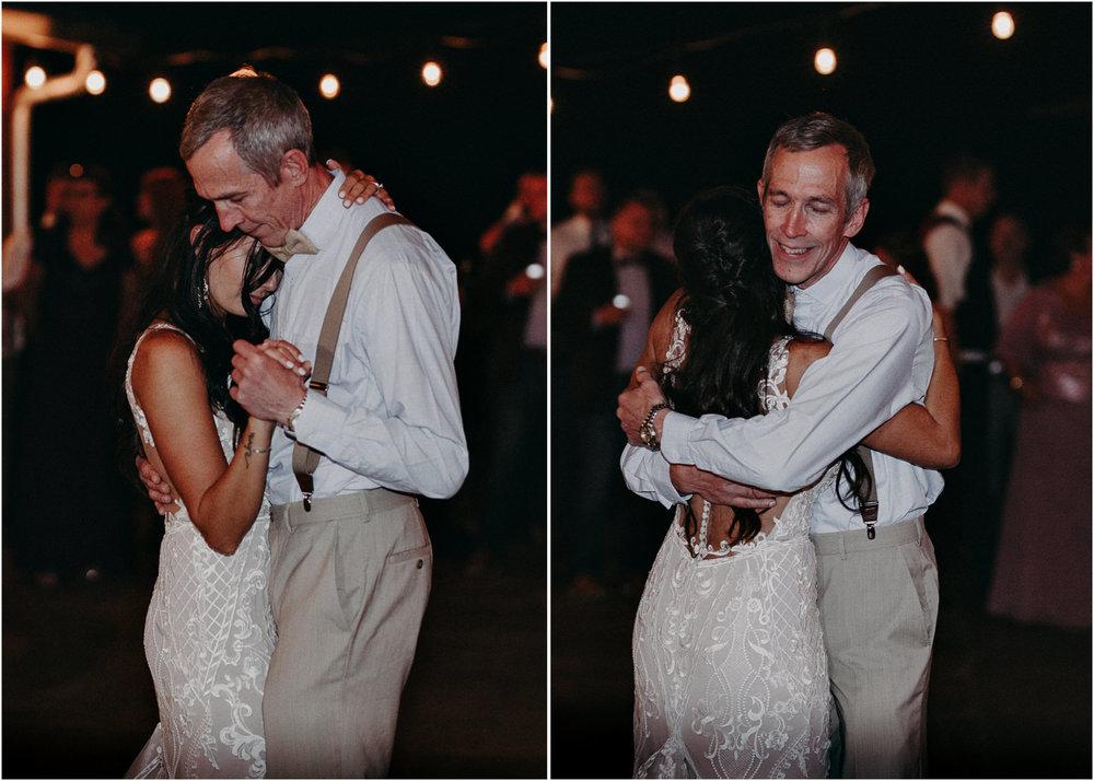 149 - Wedding father daughter dance : reception : Deep South Farm Wedding Venue : Atlanta Wedding Photographer .jpg
