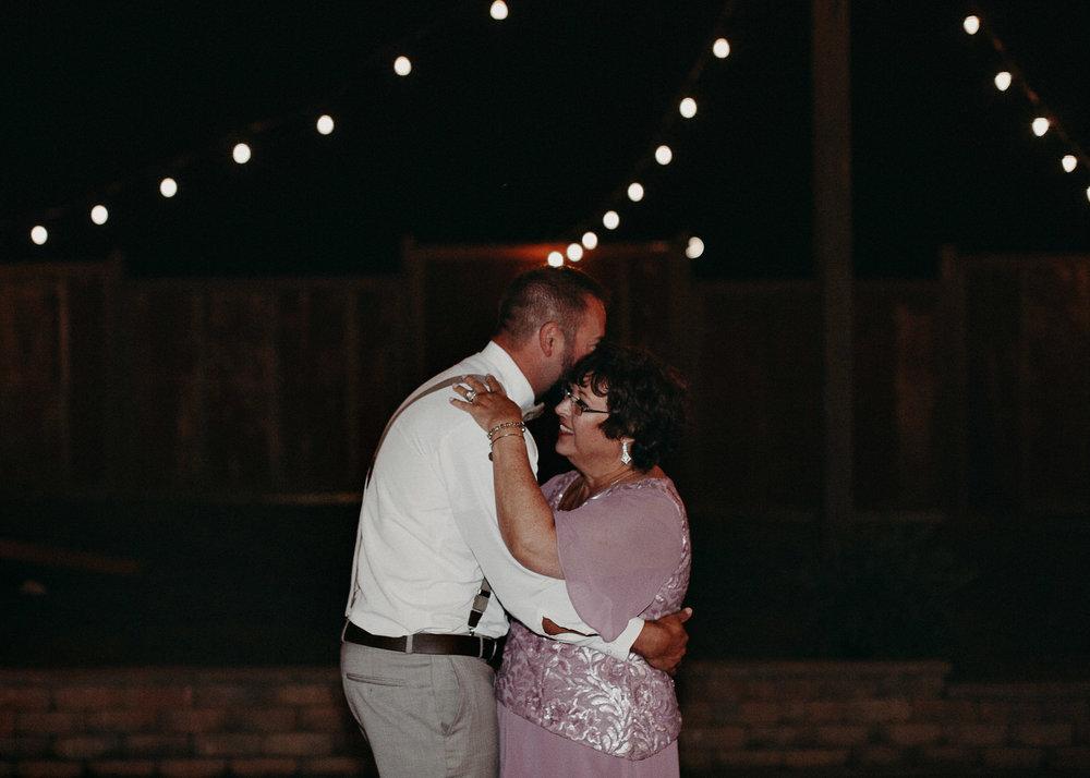 150 - Wedding mother : son dance : reception : Deep South Farm Wedding Venue : Atlanta Wedding Photographer .jpg