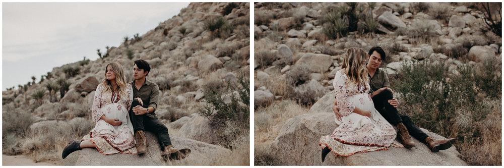 7 - Pregnancy photoshoot : California, Joshua tree : Atlanta wedding and portrait photographer .jpg