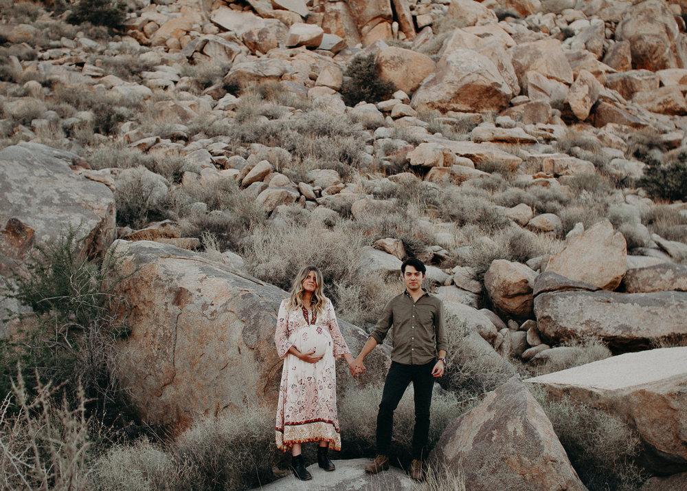 9 - Pregnancy photoshoot : California, Joshua tree : Atlanta wedding and portrait photographer .jpg