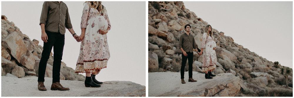 12 - Pregnancy photoshoot : California, Joshua tree : Atlanta wedding and portrait photographer .jpg