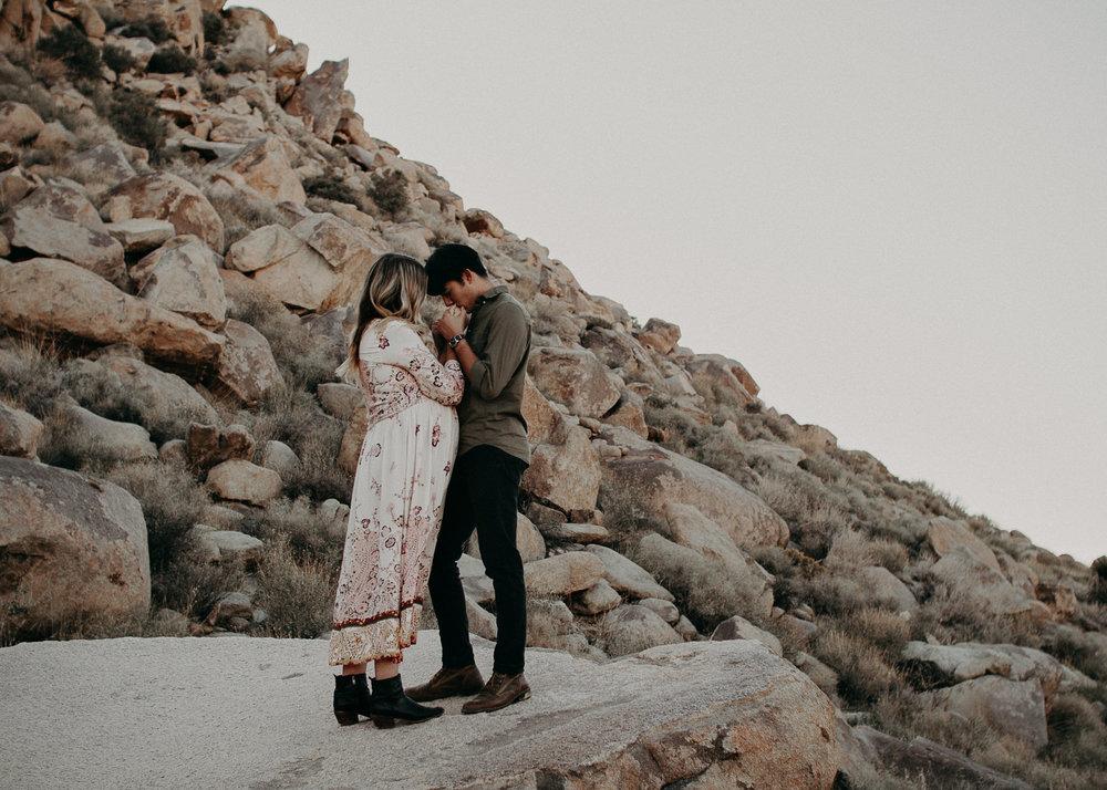 13 - Pregnancy photoshoot : California, Joshua tree : Atlanta wedding and portrait photographer .jpg