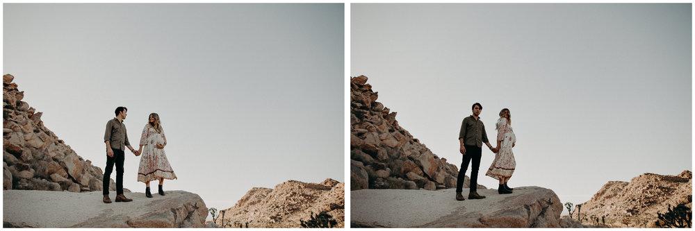 15 - Pregnancy photoshoot : California, Joshua tree : Atlanta wedding and portrait photographer .jpg