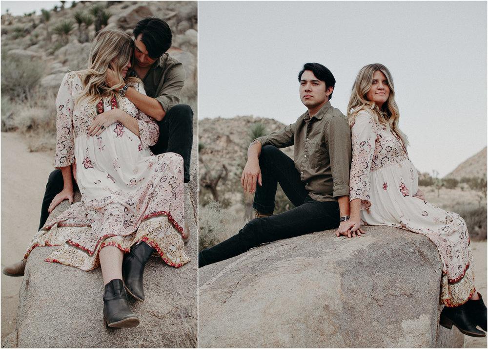 19 - Pregnancy photoshoot : California, Joshua tree : Atlanta wedding and portrait photographer .jpg