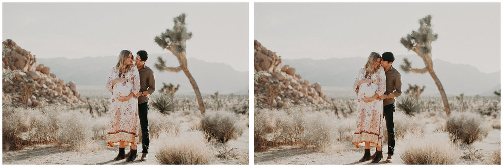 21 - Pregnancy photoshoot : California, Joshua tree : Atlanta wedding and portrait photographer .jpg