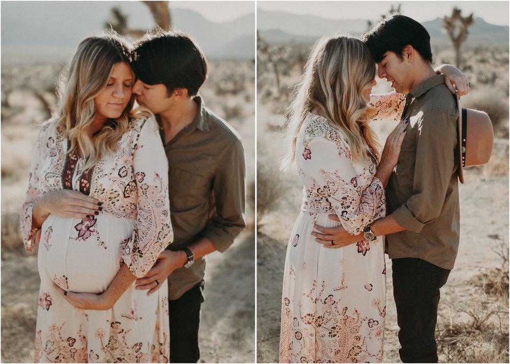 23 - Pregnancy photoshoot : California, Joshua tree : Atlanta wedding and portrait photographer .jpg