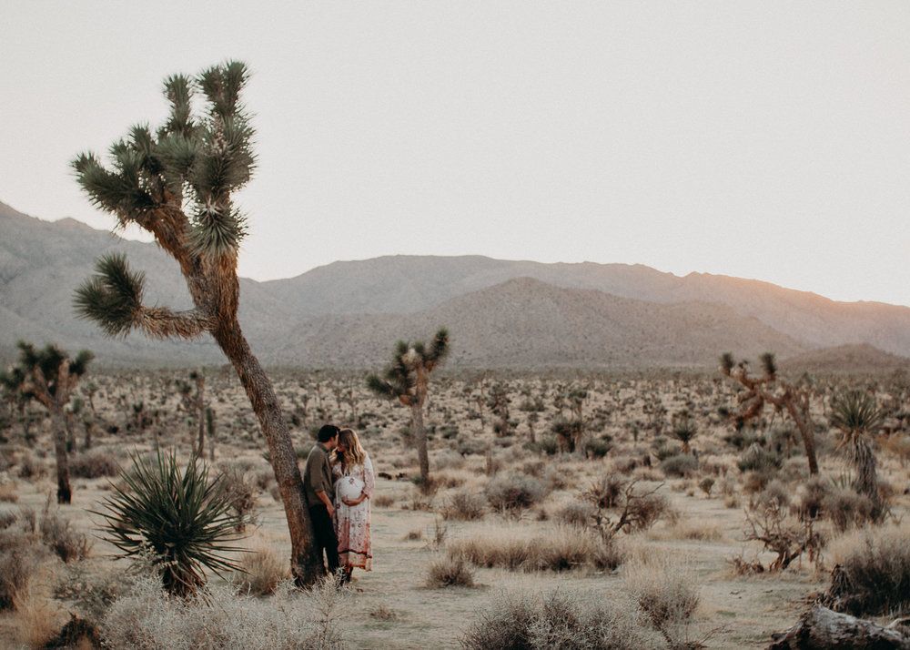 34 - Pregnancy photoshoot : California, Joshua tree : Atlanta wedding and portrait photographer .jpg