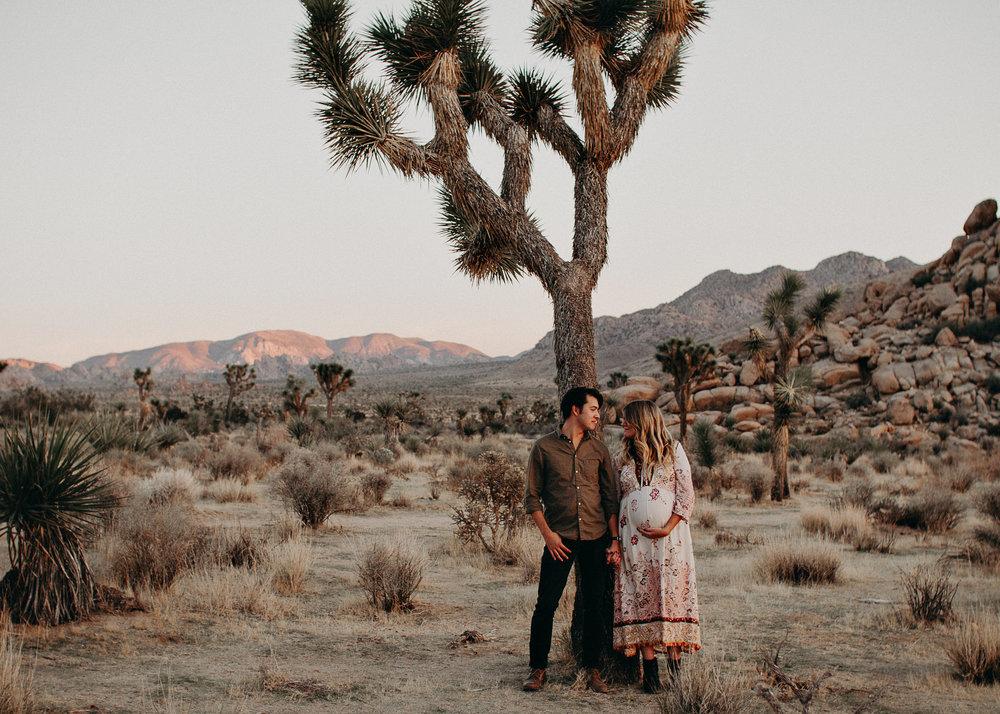 35 - Pregnancy photoshoot : California, Joshua tree : Atlanta wedding and portrait photographer .jpg