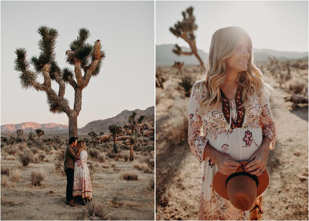 36 - Pregnancy photoshoot : California, Joshua tree : Atlanta wedding and portrait photographer .jpg