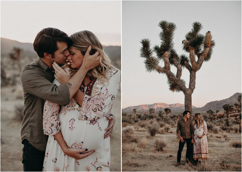 48 - Pregnancy photoshoot : California, Joshua tree : Atlanta wedding and portrait photographer .jpg