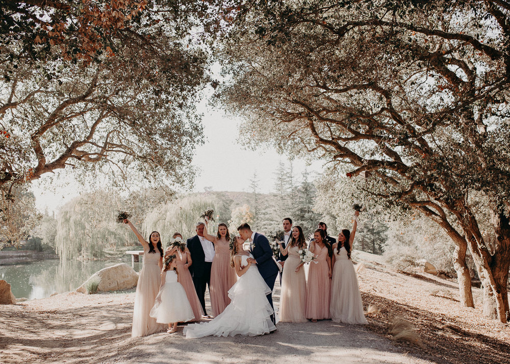 69 - Wedding details - Portraits : Bride and groom and bridal party : wedding venue San Diego - Milagro Winery Ramona - CA - Atlanta Wedding Photographer .jpg.JPG