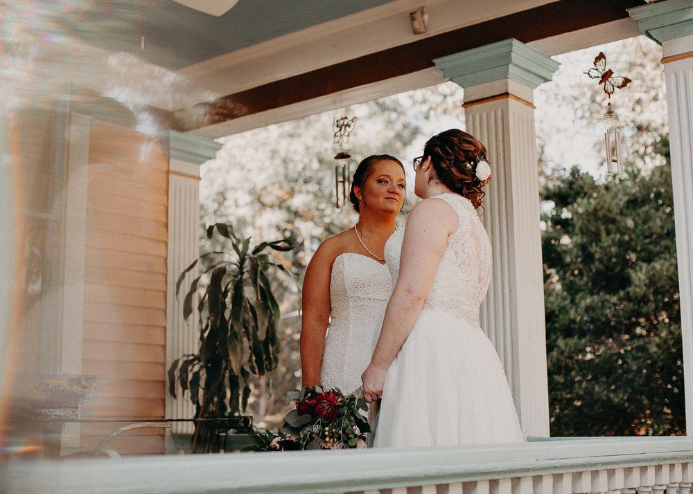 29 - Atlanta wedding photographer - Same sex wedding - wedding dress - details - ceremony - reception - bridal party - two brides. Aline Marin Photography .jpg.JPG