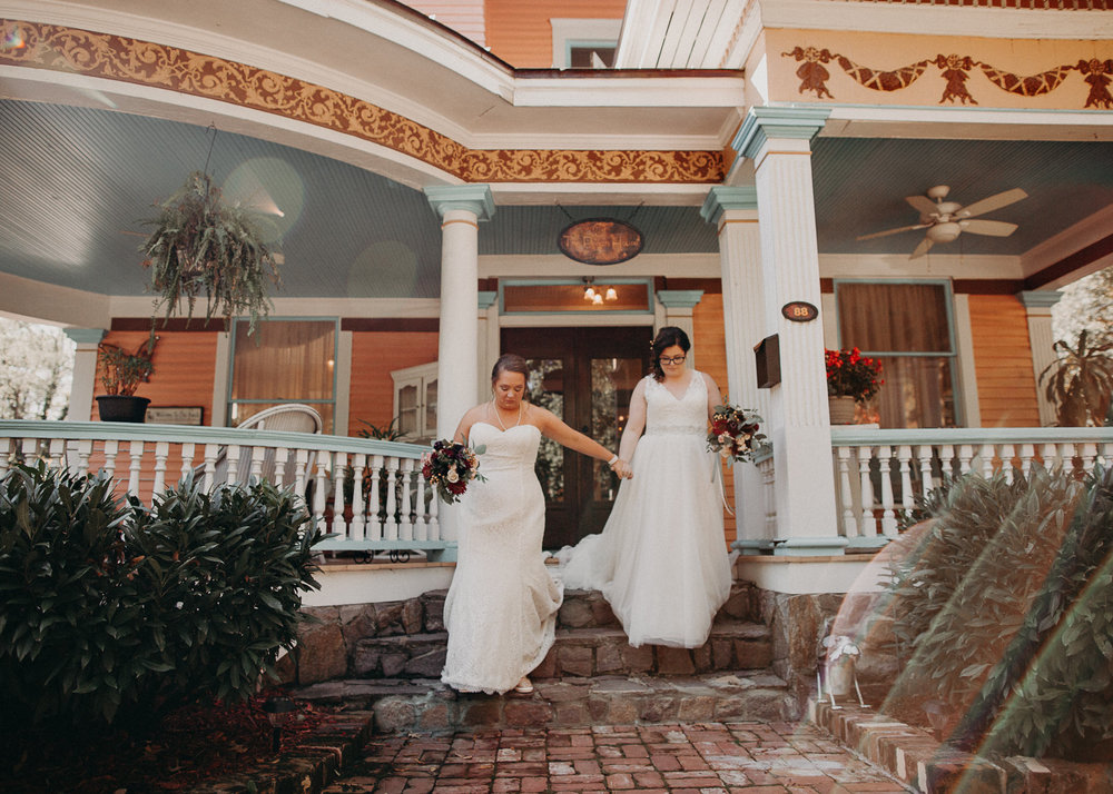 32 - Atlanta wedding photographer - Same sex wedding - wedding dress - details - ceremony - reception - bridal party - two brides. Aline Marin Photography .jpg.JPG