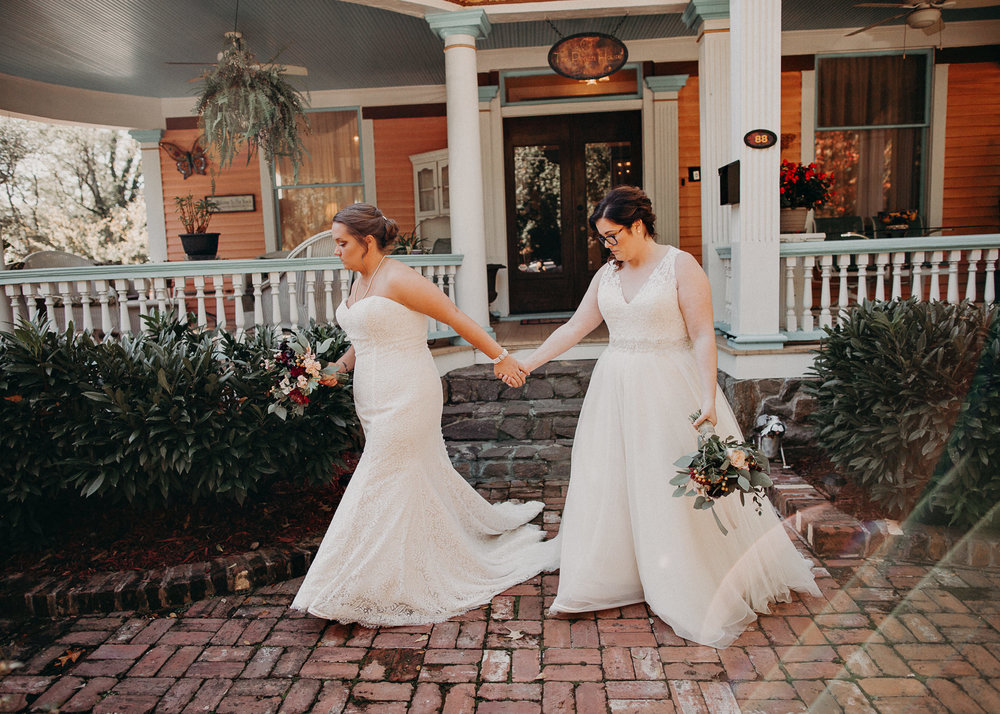 33 - Atlanta wedding photographer - Same sex wedding - wedding dress - details - ceremony - reception - bridal party - two brides. Aline Marin Photography .jpg.JPG