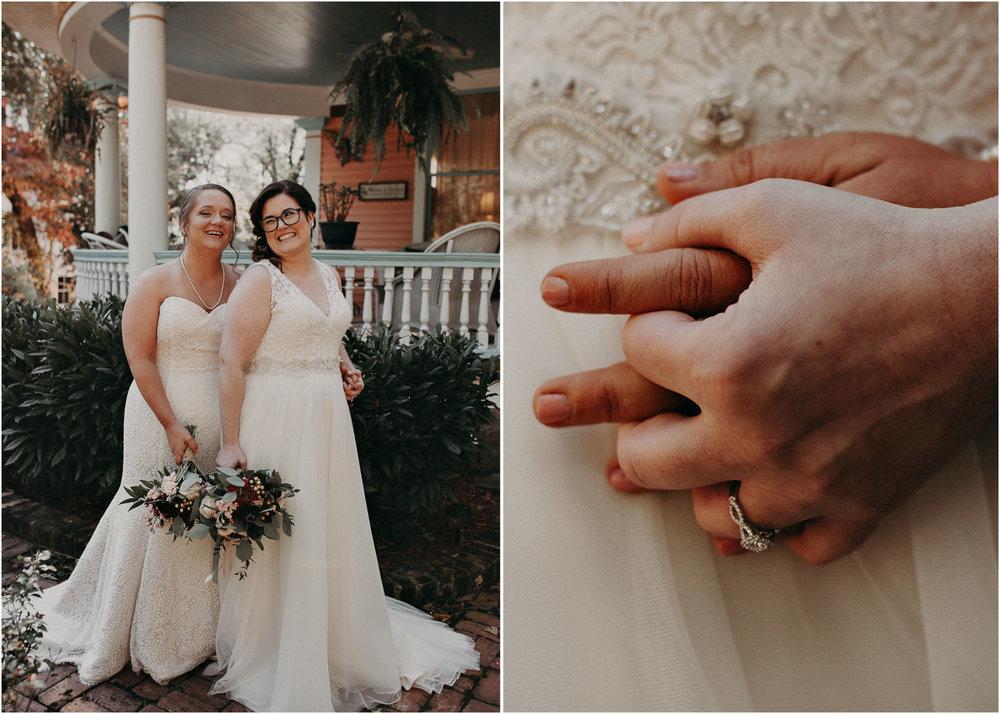 35 - Atlanta wedding photographer - Same sex wedding - wedding dress - details - ceremony - reception - bridal party - two brides. Aline Marin Photography .jpg.JPG