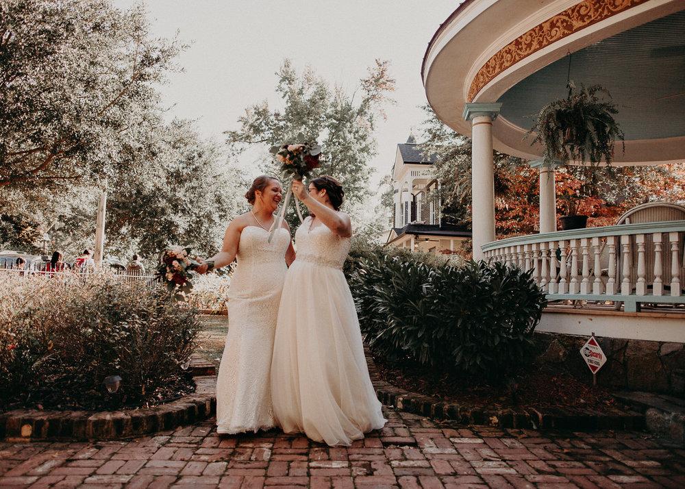 37 - Atlanta wedding photographer - Same sex wedding - wedding dress - details - ceremony - reception - bridal party - two brides. Aline Marin Photography .jpg.JPG