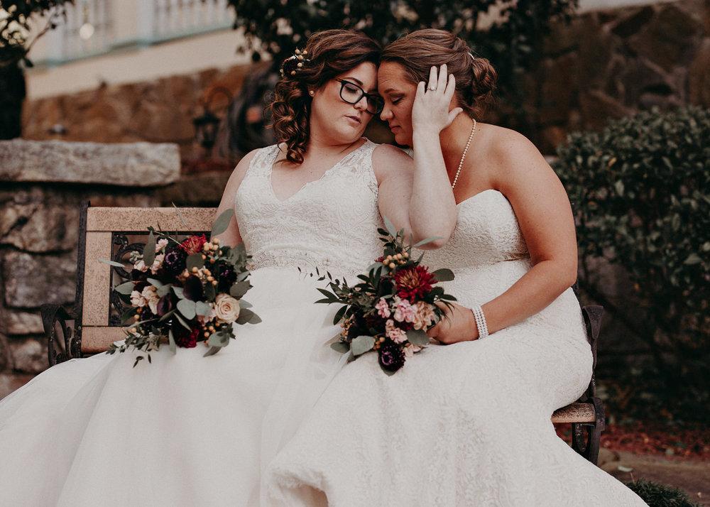 41 - Atlanta wedding photographer - Same sex wedding - wedding dress - details - ceremony - reception - bridal party - two brides. Aline Marin Photography .jpg.JPG