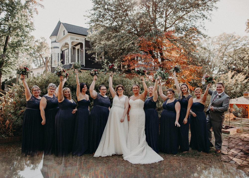 54 - Atlanta wedding photographer - Same sex wedding - wedding dress - details - ceremony - reception - bridal party - two brides. Aline Marin Photography .jpg.JPG