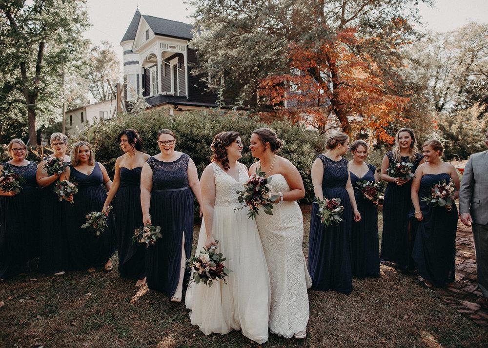 57 - Atlanta wedding photographer - Same sex wedding - wedding dress - details - ceremony - reception - bridal party - two brides. Aline Marin Photography .jpg.JPG