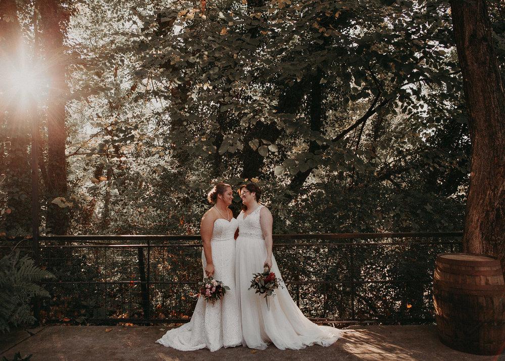 66 - Atlanta wedding photographer - Same sex wedding - wedding dress - details - ceremony - reception - bridal party - two brides. Aline Marin Photography .jpg.JPG