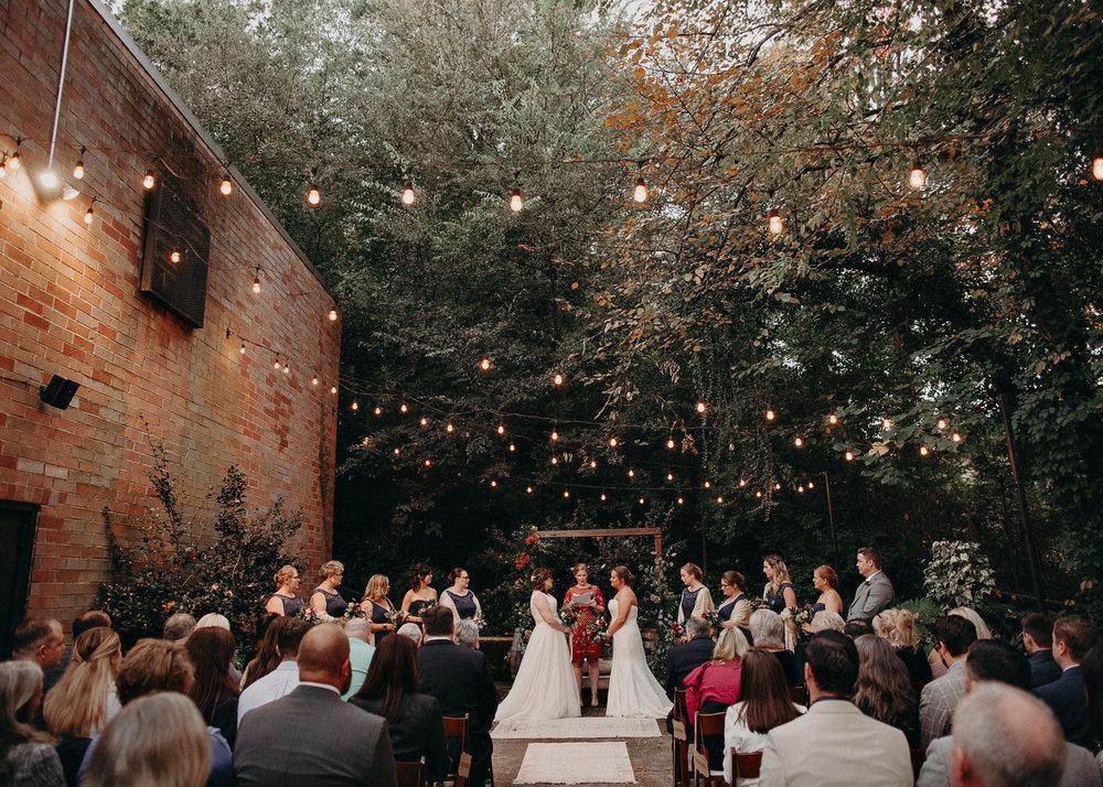 93 - Atlanta wedding photographer - Same sex wedding - wedding dress - details - ceremony - reception - bridal party - two brides. Aline Marin Photography .jpg.JPG