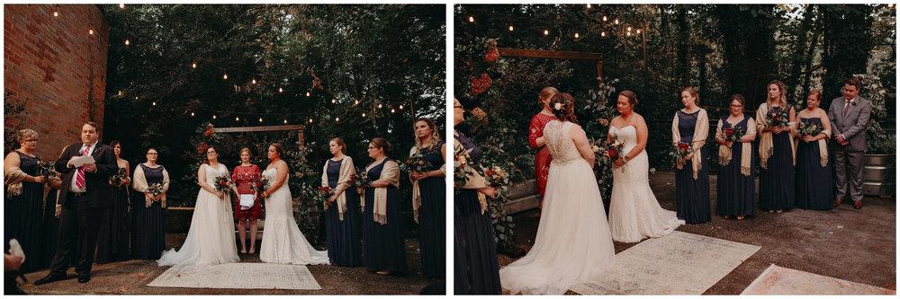 95 - Atlanta wedding photographer - Same sex wedding - wedding dress - details - ceremony - reception - bridal party - two brides. Aline Marin Photography .jpg.JPG