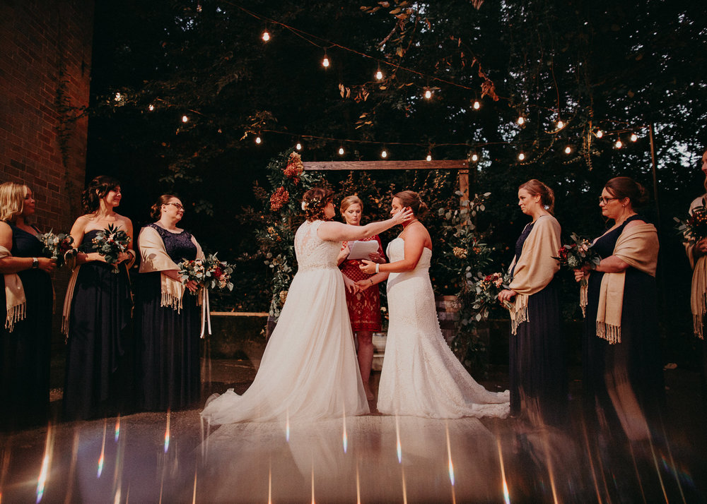 98 - Atlanta wedding photographer - Same sex wedding - wedding dress - details - ceremony - reception - bridal party - two brides. Aline Marin Photography .jpg.JPG