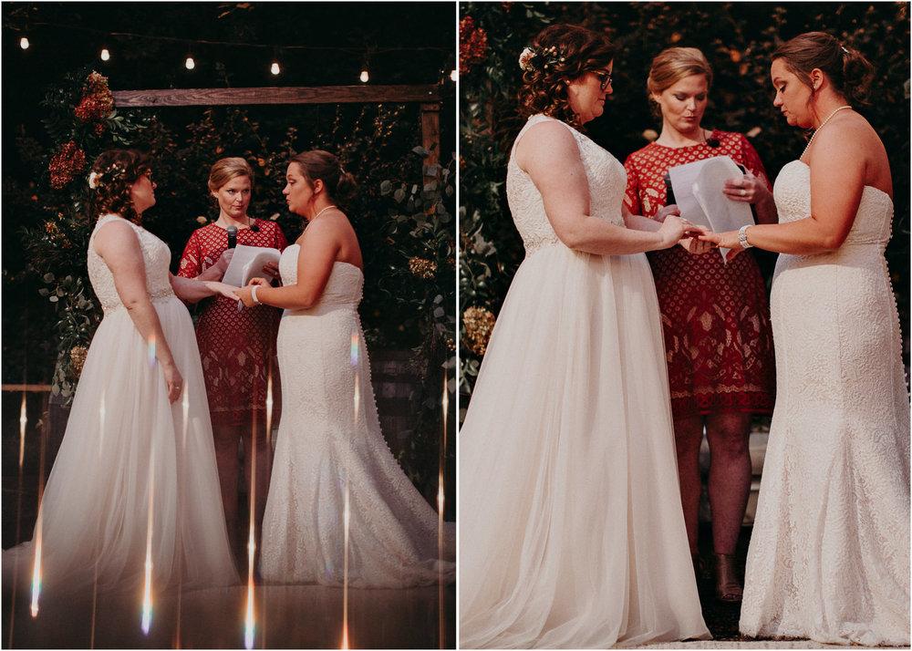 99 - Atlanta wedding photographer - Same sex wedding - wedding dress - details - ceremony - reception - bridal party - two brides. Aline Marin Photography .jpg.JPG