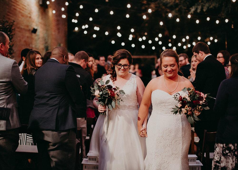 102 - Atlanta wedding photographer - Same sex wedding - wedding dress - details - ceremony - reception - bridal party - two brides. Aline Marin Photography .jpg.JPG