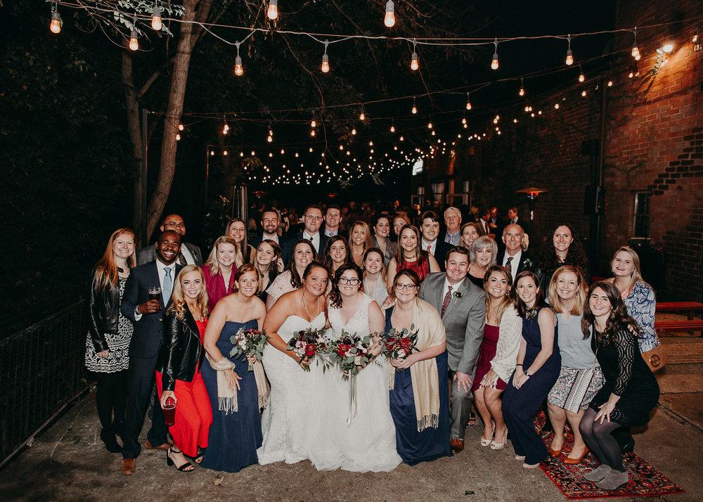 103 - Atlanta wedding photographer - Same sex wedding - wedding dress - details - ceremony - reception - bridal party - two brides. Aline Marin Photography .jpg.JPG